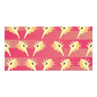 Shells pattern card
