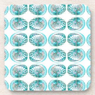 Shells Pattern Drink Coaster