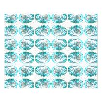 Shells Pattern. Flyer