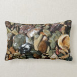 Shells, Rocks and Coral Beach Nature Theme Pillow