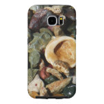 Shells, Rocks and Coral Beach Nature Theme Samsung Galaxy S6 Case