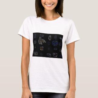 Shells, stones, beach. T-Shirt