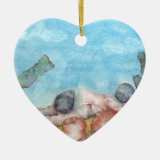Shells Under The Sea. Ceramic Ornament
