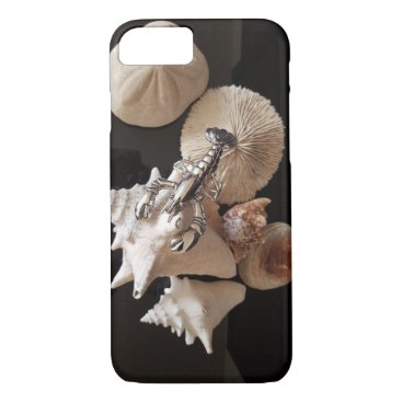 Beach Themed Shells with lobster iPhone 7 case