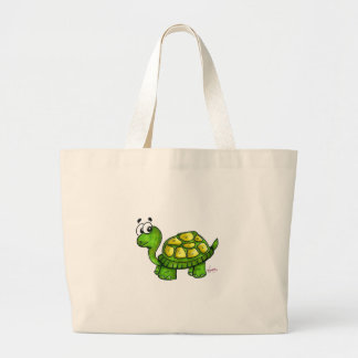 Shelly the Turtle Reusable Totebag Bags