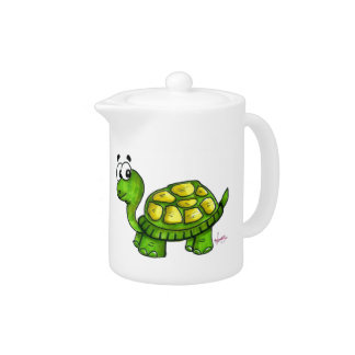 Shelly the Turtle Teapot