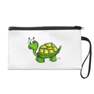 Shelly the Turtle Wristlet Bag