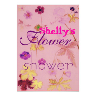 , Shelly's, Flower, shower Card