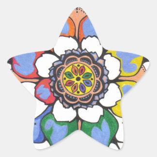 shellzmandala star sticker
