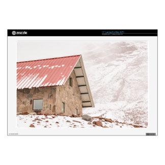 """Shelter at Chimborazo Mountain in Ecuador 17"""" Laptop Skin"""