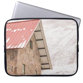 Shelter at Chimborazo Mountain in Ecuador Laptop Sleeve