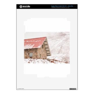 Shelter at Chimborazo Mountain in Ecuador Skin For iPad 3