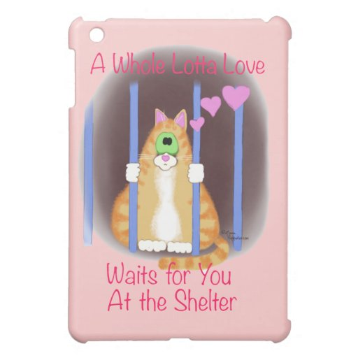 Shelter Cat Case For The iPad Mini