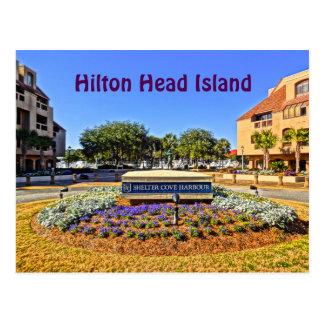 Shelter Cove Harbour & Marina Hilton Head Island Postcard