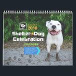 """Shelter Dog Celebration 2018 Calendar<br><div class=""""desc"""">With winners from BADRAP&#39;s Shelter Dog Calendar Contest!</div>"""