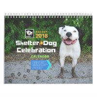 Shelter Dog Celebration 2018 Calendar