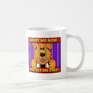Shelter-Dog Coffee Mugs