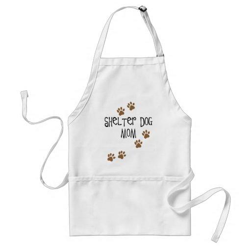 Shelter Dog Mom Adult Apron