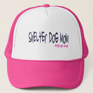 Shelter Dog Mom Hat (pink)