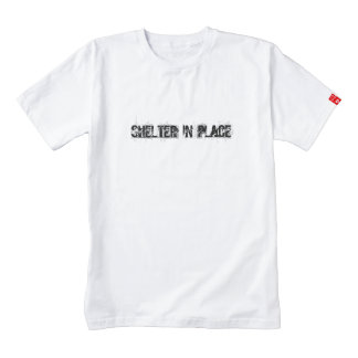 Shelter In Place Zazzle HEART T-Shirt