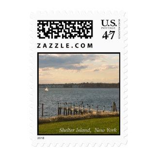 Shelter Island Dock Postage