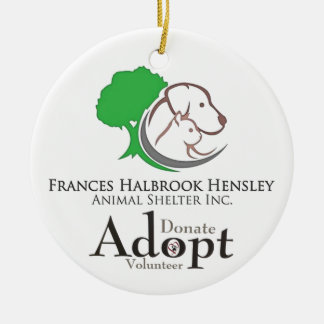 Shelter Logo Ceramic Ornament