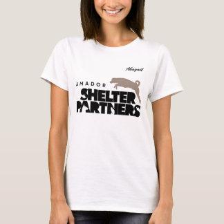 SHELTER Partners Logo Apparel Custom Name T-Shirt