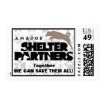 SHELTER Partners Logo Postage Stamps