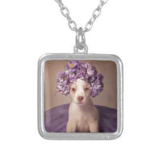 Shelter Pets Project - Fiona Silver Plated Necklace