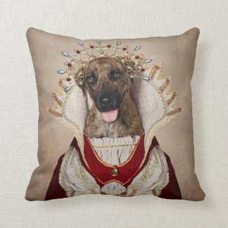 Shelter Pets Project - Mademoiselle Throw Pillow