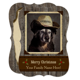 Shelter Pets Project-Moses - Holiday Edition Card