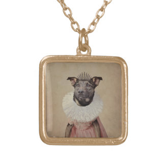 Shelter Pets Project - Ms. Wesson Gold Plated Necklace