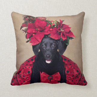 Shelter Pets Project - Twinkle Toes Throw Pillow