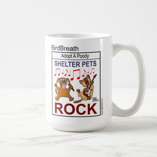 Shelter Pets Rock Coffee Mug