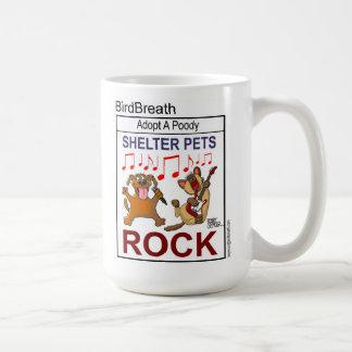 Shelter Pets Rock Mugs