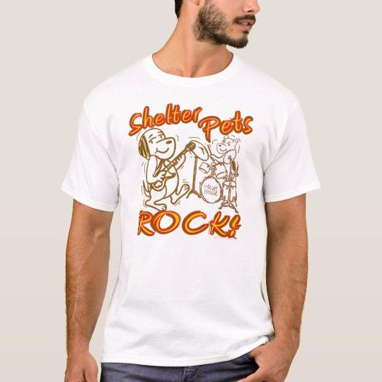 Shelter Pets Rock T-Shirt