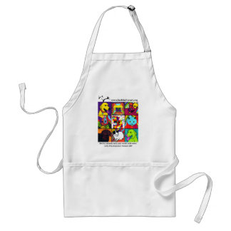 Shelter Pets Rock Your World With Color! Adult Apron