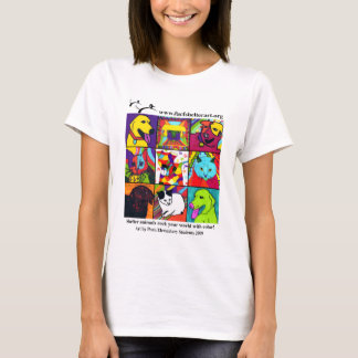 Shelter Pets Rock Your World With Color! T-Shirt