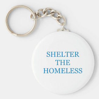 Shelter The Homeless Keychain