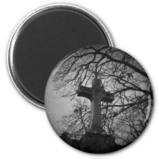 sheltered cross bw magnet