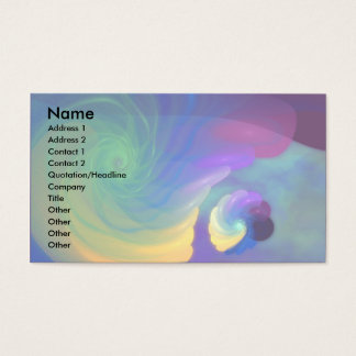 Sheltered Life Abstract Art Business Card
