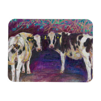 Sheltering cows 2011 magnet
