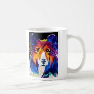 Sheltie #1 classic white coffee mug