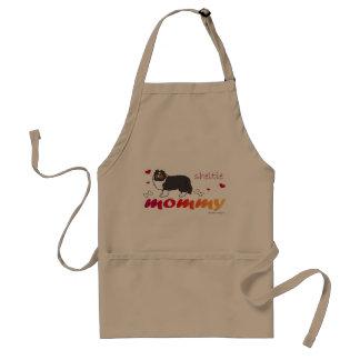 sheltie adult apron