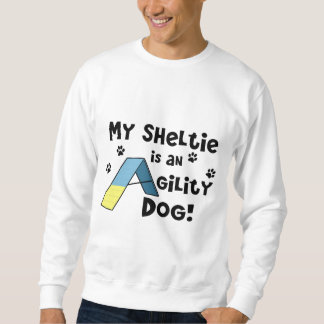 Sheltie Agility Dog Sweatshirt