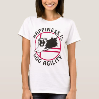 Sheltie Agility Happiness T-Shirt