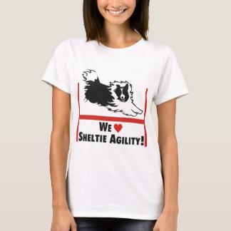 Sheltie Agility Love T-Shirt