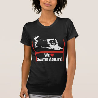 Sheltie Agility Love Shirt