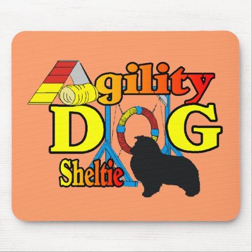 Sheltie Agility Shetland Sheepdog Gifts Mouse Pad