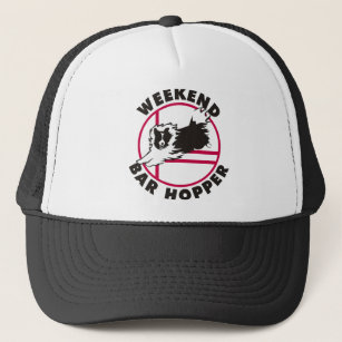bcf802227af Sheltie Agility Weekend Bar Hopper Trucker Hat